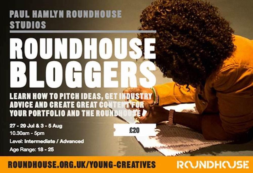 Roundhouse workshop banner