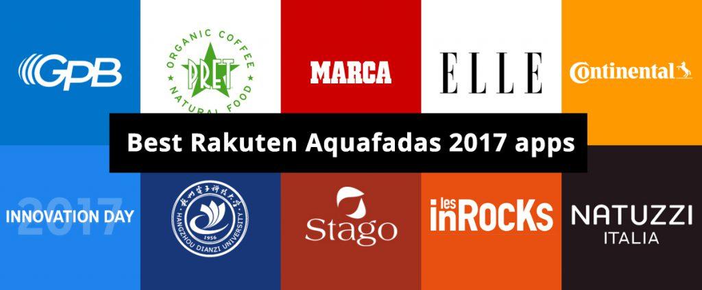 Best Aquafadas apps 2017